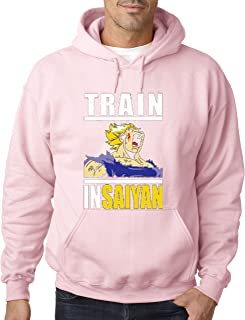 292 - Hoodie Train Insaiyan Gym Workout Goku DBZ Dragon Ball Z Unisex Pullover Sweatshirt