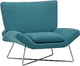 Rivet Farr Lotus Accent Chair, Aqua