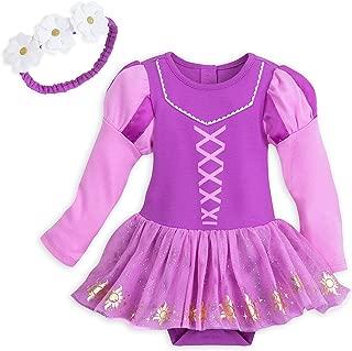 Disney Rapunzel Costume Bodysuit with Headband for Baby Size 18-24 MO Multi