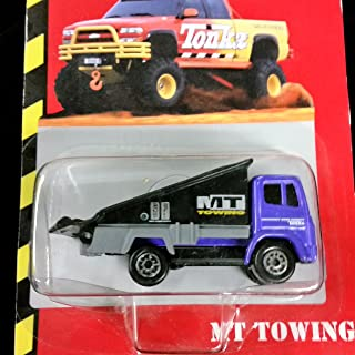 Tonka MT Tow Truck (Purple) Die-cast Collectible By Tonka