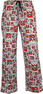 simpsons mens pajama pants