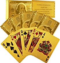 Best 24k gold plated playing cards Reviews