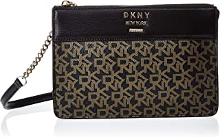 DKNY Crossbody for Women- Monogram/Black