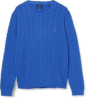 GANT Men's Cotton Cable C-Neck Sweater