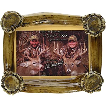 4 x 6 in. M/&F Western 94489 My 1st Deer Antler Picture Frame