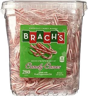 Brachs 280 Peppermint Mini Candy Canes 43oz