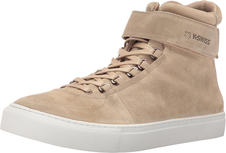 K-Swiss Mens High Court Suede Fashion Sneaker