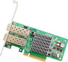 I/O Crest SY-PEX24049 2 Port Qsfp 10 Gigabit Pci-E X8 NIC Network Card Intel Chipset