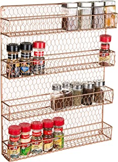 Best gold spice rack Reviews