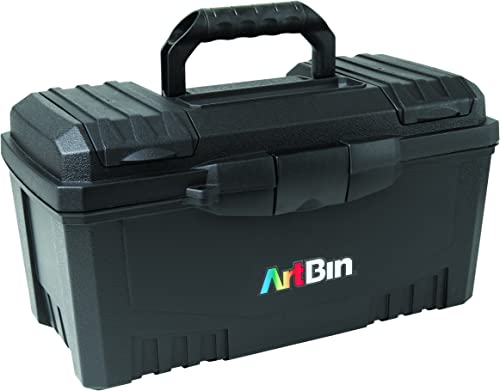 directo de fábrica ArtBin ArtBin ArtBin 17-Inch Twin Top Tool Box- negro Art Supply Storage Box, 6918AB by ArtBin  venta mundialmente famosa en línea