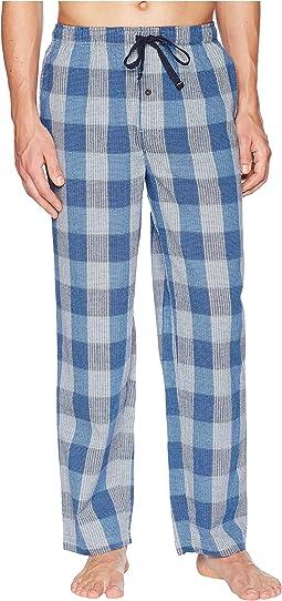 Seersucker Woven Pajama Pants