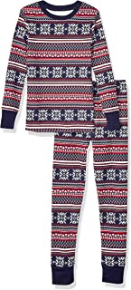 Toddler and Kids' Long-Sleeve Tight-fit 2-Piece Pajama Set