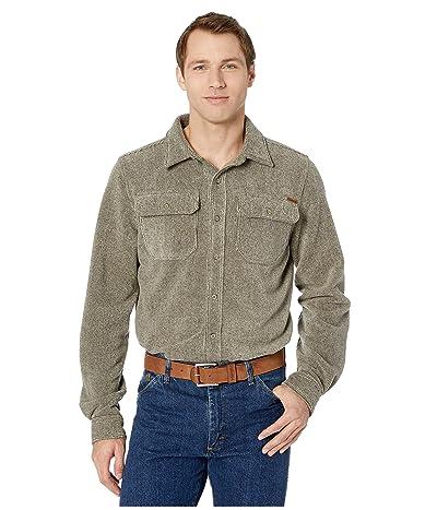 Cinch Fleece Shirt Jacket (Heather Khaki) Men