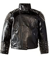 eve jnr - Studded Leather Jacket (Little Kids/Big Kids)