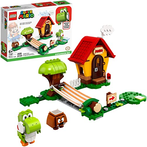 popular LEGO Super Mario Mario's House & Yoshi Expansion lowest Set 71367 Building Kit, Collectible Toy to Combine with The Super Mario Adventures with Mario Starter Course (71360) Set (205 2021 Pieces) outlet online sale