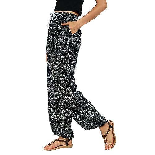 3565ee7cc23 Urban GoCo Women Boho Harem Pants Hippie Trousers