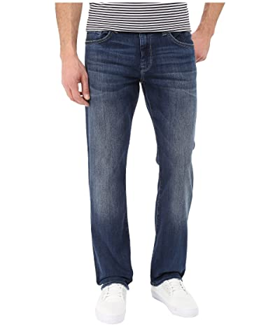 Mavi Jeans Matt Mid-Rise Relaxed Straight in Mid Indigo Cooper (Mid Indigo Cooper) Men