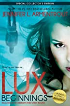 Lux: Beginnings (Obsidian & Onyx) (A Lux Novel)