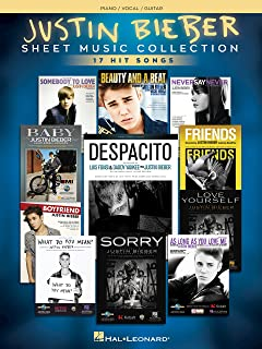 Justin Bieber - Sheet Music Collection: 15 Hit Songs