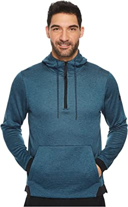 Under Armour - Armour Fleece Icon 1/4 Zip Pullover Hoodie