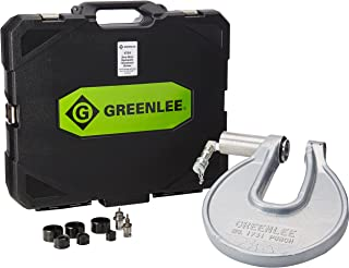 Greenlee 1731 Portable C-Frame Punch Driver with 1/2 to 1-Inch Conduit Punches