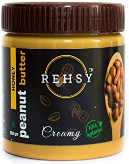 Rehsy Peanut Butter 100% Natural Honey (Creamy) (500g)