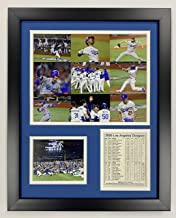 """Legends Never Die Los Angeles Dodgers   2020 World Series Champions   Framed Photo Collage Wall Art Decor - 12"""" x 15""""   Co..."""