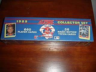 Score 1989 Baseball Card Factory Set