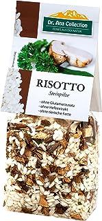 Dr. Ana Collection - Risotto Reis mit Steinpilzen 200g 5 Beutel - auch erhältlich als 1 bis 9 Beutel