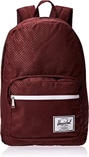 Herschel Pop Quiz Backpack, Plum Dot Check, One Size
