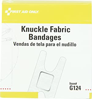 featured product First Aid Only Knuckle Fabric Bandage,  1-1/2 Inch X 3 Inch,  40 Count Box