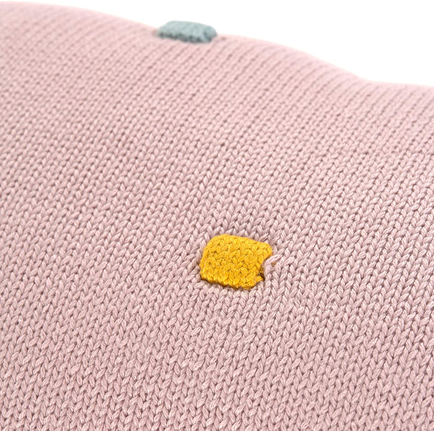L/ÄSSIG Baby Knitted Cushion Organic Cotton Dots