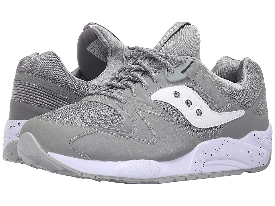 Saucony Originals Grid 9000 (Grey/White) Men