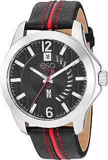 ESQ Men's Watch w/Leather Strap