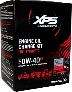 Can-Am XPS 4-Stroke Synthetic Oil Change Kit for Can-Am Defender HD8 DPS 2016-2018