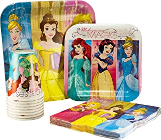 cinderella plates and cups