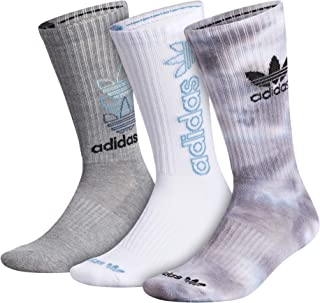 mens Mixed Graphics Cushioned Crew Socks (3-pair)