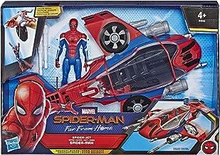 Marvel Spider-Man Far From Home – Véhicule Spiderjet et figurine - Jouet Spider-Man