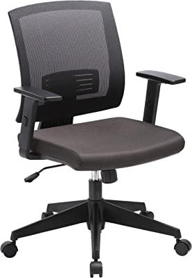 Lorell Soho Mid-Back Task Chair, Black