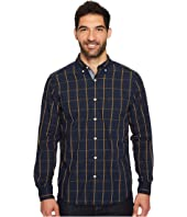 Nautica - Long Sleeve Windowpane Plaid Shirt