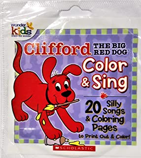 Clifford The Big Red Dog Color & Sing 20 Silly Songs [CD-ROM]