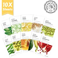 10-Count The Face Shop Real Nature Mask Sheet Pomegranate, 20 G.
