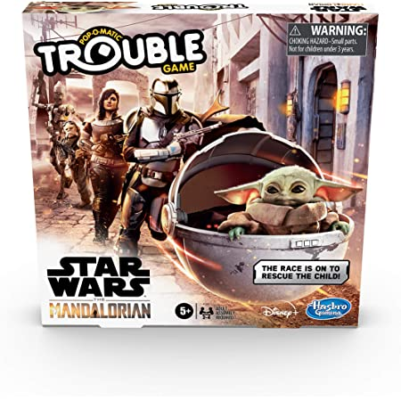 englische Sprachausgabe Hasbro Operation Game Star Wars The Mandalorian Edition Board Game for Kids Ages 6 and Up The Child who Fans Call Baby Yoda is Causing Mischief