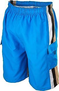 Phantom Aquatics Seaboard Surf Wear Mens Swim Trunks, 2X-Large, Blue, XX-Large