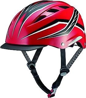オージーケーカブト(OGK KABUTO) 自転車 ヘルメット 子ども用 CHAMP(チャンプ) ギャラクシーレッド 児童用(頭囲:50~54cm)