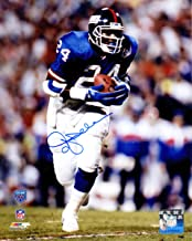 Ottis Anderson Signed New York Giants Super Bowl XXV Action 8x10 Photo