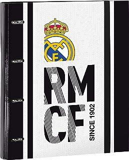 Real Madrid 511854666 2018 Estuches, 32 cm, Blanco