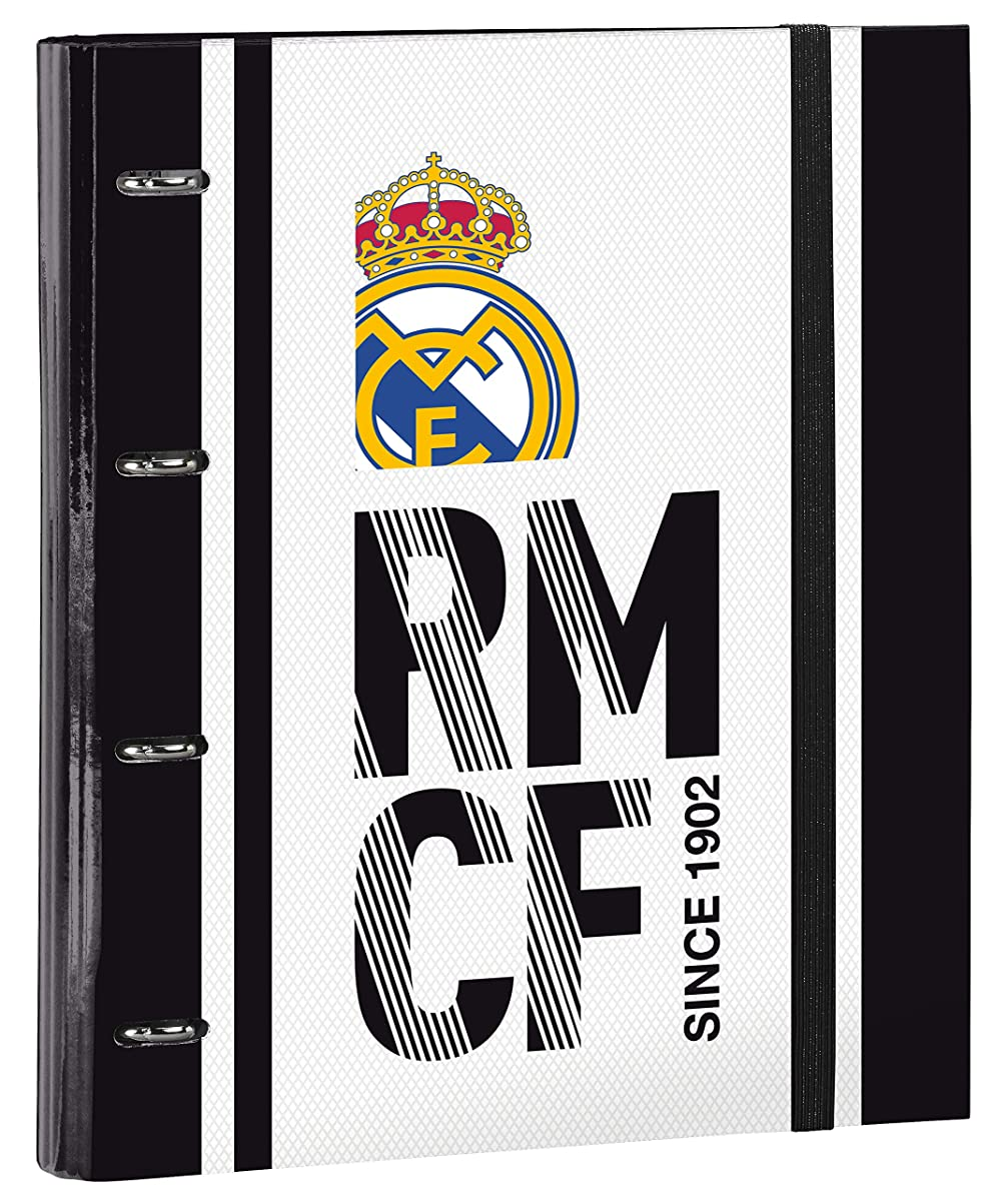 Real Madrid 2018 Pencil Cases, 32 cm, White (Blanco)