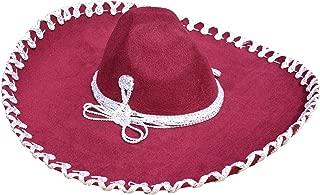 Authentic Mariachi Jaripeo Style Premium Mexican Sombrero (Choose Size & Color)