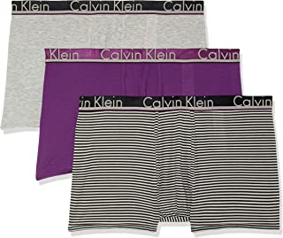 Calvin Klein Men's Comfort Microfiber 3-Pack Trunk